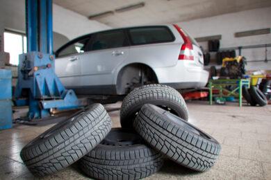 Set of Car Tires